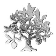 Sterling Silver Tree of life Brooch